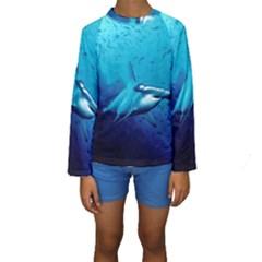 HAMMERHEAD Kid s Long Sleeve Swimwear