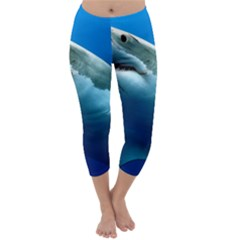 Great White Shark 3 Capri Winter Leggings