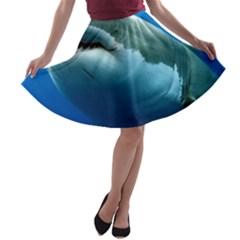 GREAT WHITE SHARK 3 A-line Skater Skirt
