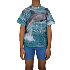 DOLPHIN Kid s Short Sleeve Swimwear