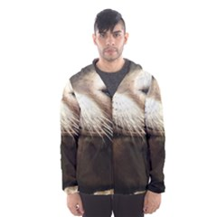 CUTE SEA LION Hooded Wind Breaker (Men)