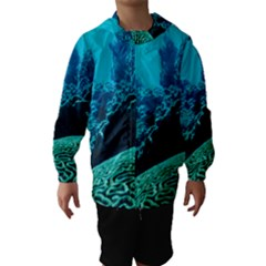 Coral Reefs 2 Hooded Wind Breaker (kids)