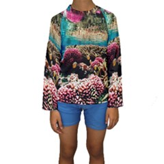 CORAL REEFS 1 Kid s Long Sleeve Swimwear