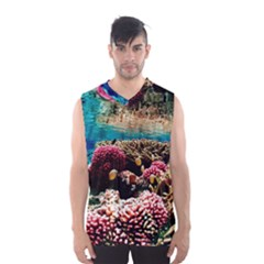 Coral Reefs 1 Men s Basketball Tank Top