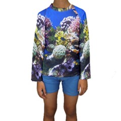 CORAL OUTCROP 1 Kid s Long Sleeve Swimwear