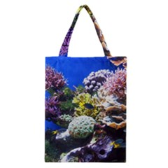 Coral Outcrop 1 Classic Tote Bags