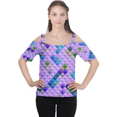 Mosaic & Co 01b Women s Cutout Shoulder Tee