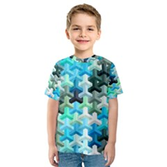 Mosaic & Co 02a Kid s Sport Mesh Tees