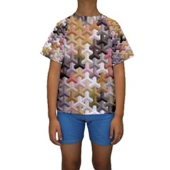 Mosaic & Co 02b Kid s Short Sleeve Swimwear