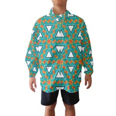 Triangles and other shapes pattern Wind Breaker (Kids)