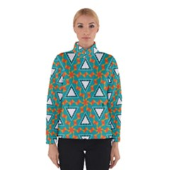 Triangles and other shapes pattern Winter Jacket