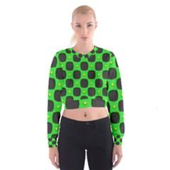 Black Holes   Women s Cropped Sweatshirt