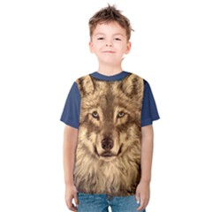 Wolf Kid s Cotton Tee