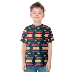 Triangles and other shapes Kid s Cotton Tee