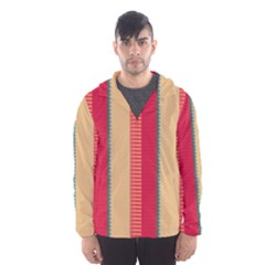 Stripes and other shapes Mesh Lined Wind Breaker (Men)