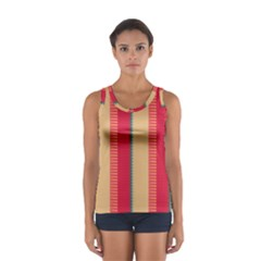 Stripes and other shapes Women s Sport Tank Top