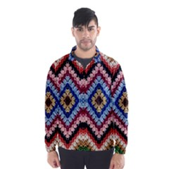 Colorful Diamond Crochet Wind Breaker (Men)