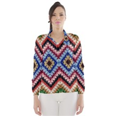 Colorful Diamond Crochet Wind Breaker (women)