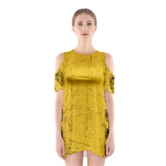 WEATHERING Women s Cutout Shoulder Dress