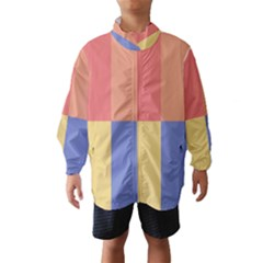 4 squares Wind Breaker (Kids)