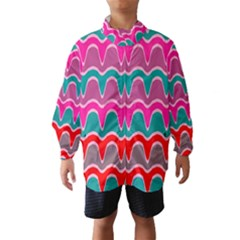 Waves pattern Wind Breaker (Kids)