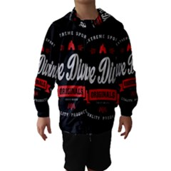 Cave Diving Extreme Sport Hooded Wind Breaker (kids)