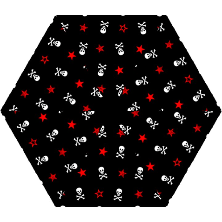 Stars, Skulls And Crossbones Mini Folding Umbrellas