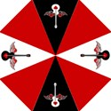 Flying Heart Guitar Straight Umbrellas View1