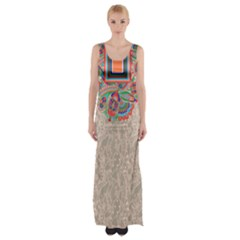 Tribal7 Maxi Thigh Split Dress