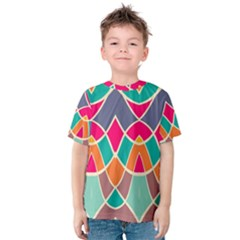 Wavy design Kid s Cotton Tee