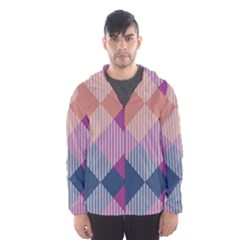 Argyle variation Mesh Lined Wind Breaker (Men)