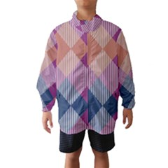Argyle variation Wind Breaker (Kids)