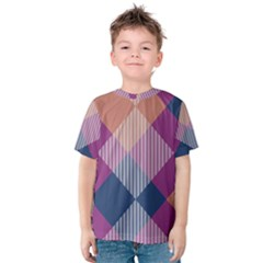 Argyle variation Kid s Cotton Tee