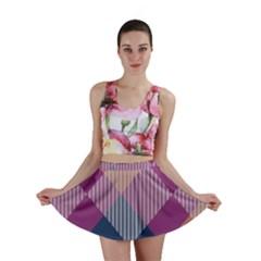 Argyle Variation Mini Skirt