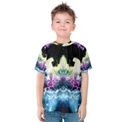 Space Cosmos Black Blue White Red Kid s Cotton Tee