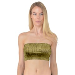 Gold Rush In Bandeau Top