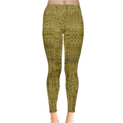 Gold Rush in Leggings