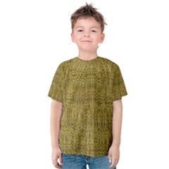 Gold Rush in Kid s Cotton Tee