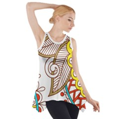 tribal8 Side Drop Tank Tunic