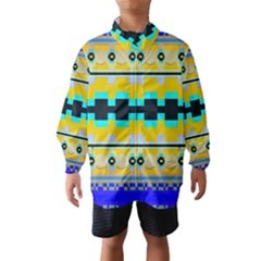 Rectangles And Other Shapes Wind Breaker (kids)