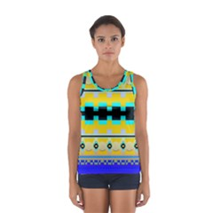 Rectangles And Other Shapes Women s Sport Tank Top