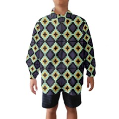 Pixelated pattern Wind Breaker (Kids)