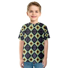 Pixelated pattern Kid s Sport Mesh Tee