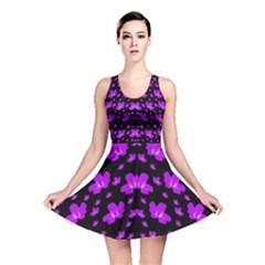 Pretty flowers Reversible Skater Dress