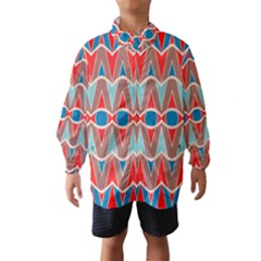 Rhombus and ovals chains Wind Breaker (Kids)