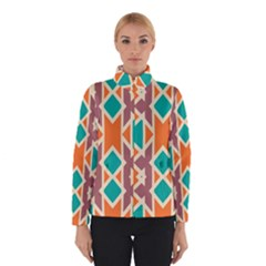 Rhombus Triangles And Other Shapes Winter Jacket