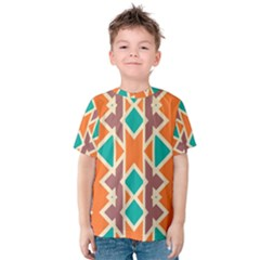 Rhombus triangles and other shapes Kid s Cotton Tee