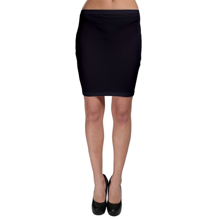 Black Gothic Bodycon Skirts