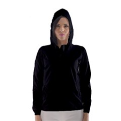 Black Gothic Hooded Wind Breaker (Women)