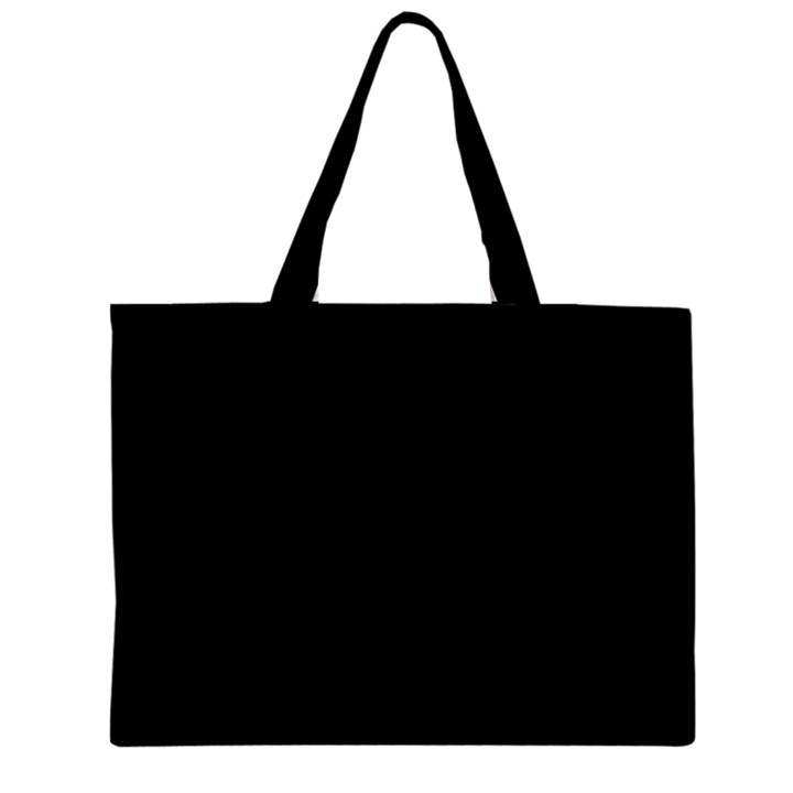 Black Gothic Zipper Tiny Tote Bags